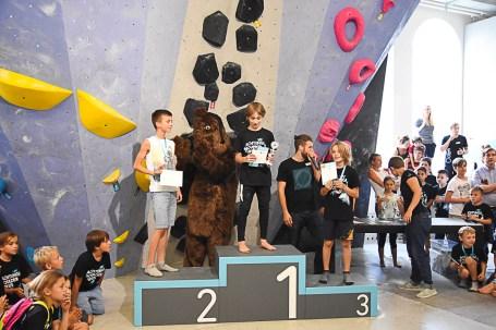 Unser interner Boulderkids Cup in der Boulderwelt München West