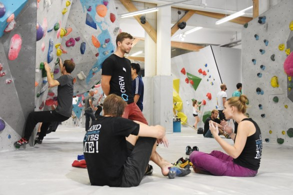 Tech Session #2 2018 Event Boulderwelt München West