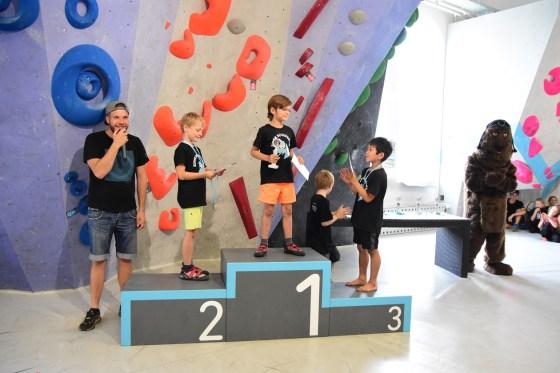 Boulderkids Cup 2019 in der Boulderwelt München West