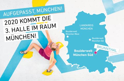 Neue Boulderwelt in Brunnthal für den Raum München geplant