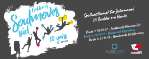 Soulmoves Süd 10 - Die zweite Runde in der Boulderwelt Regensburg am 28.10.2017