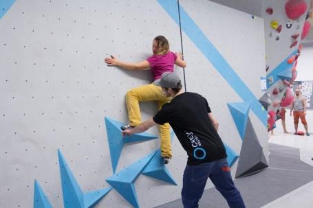 Kostenlose Tech Session 2018 in der Boulderwelt Regensburg. Verbessert Eure Bouldertechnik und lasst Euch coachen.