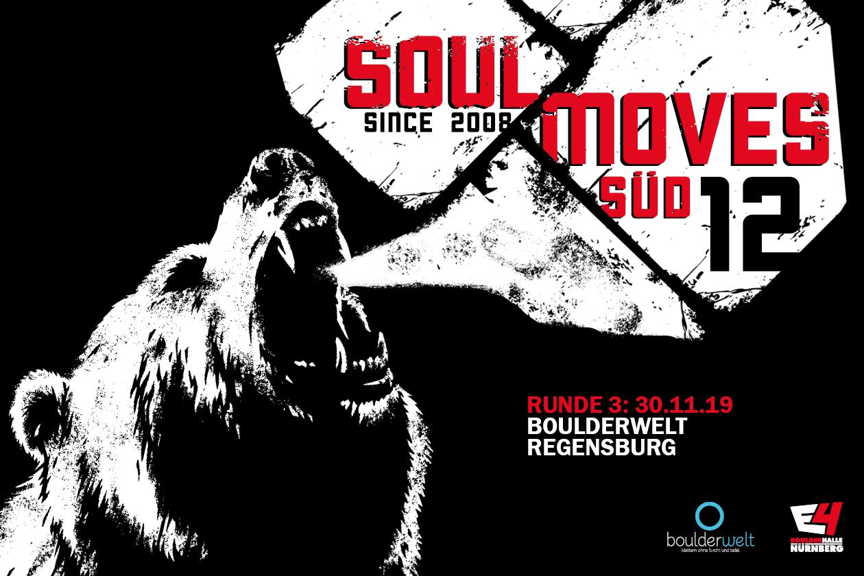 Soulmoves Süd 12 startet in eine neue Runde Spaßwettkampf in der Boulderwelt München West, Boulderwelt Regensburg und Boulderhalle E4