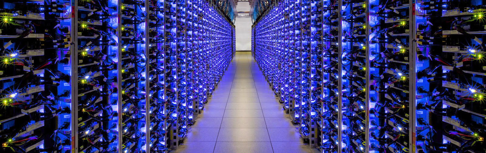 An Amazon Cloud Server Room