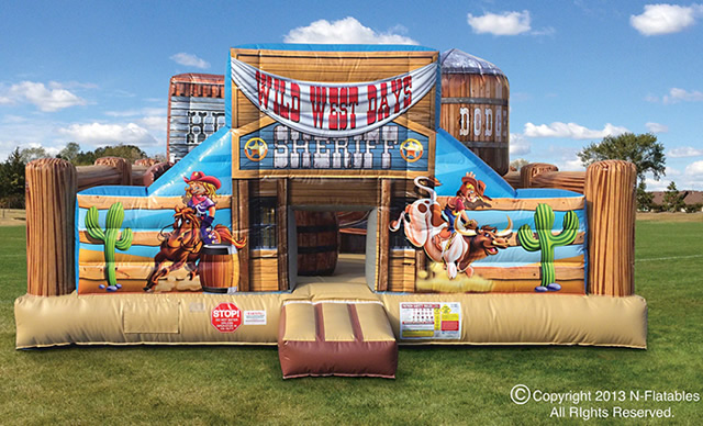Wild West Playland Toddler Party Rental Dallas TX