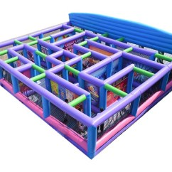 Tables And Chairs Rental Price Car Office Chair Carnival Fun House Dallas, Tx | Inflatable Maze