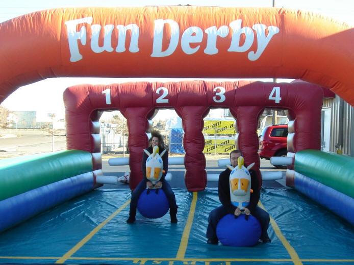 Inflatable Pony Derby for Rent in Dallas TX North Texas