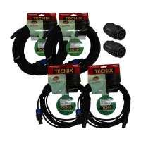 Tecnix Speakon Cable Bundle