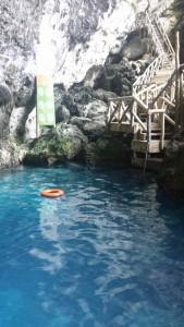 Hoyo azul or blue hole