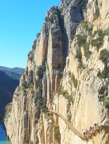 The most dangerous hiking path in Spain: Caminito Del Rey