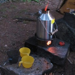 Grill Kitchen Undermount Single Bowl Sink Kelly Kettle Scout Kit, Camp Cooking Stove | Boundary ...
