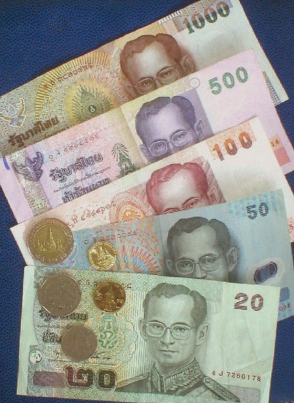 Impressions of Chiang Mai - Thai Money