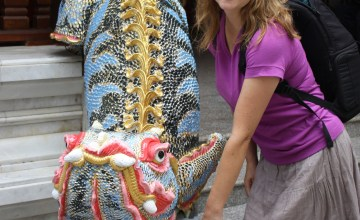 Dragon Statue at Doi Suthep in Chiang Mai, Thailand