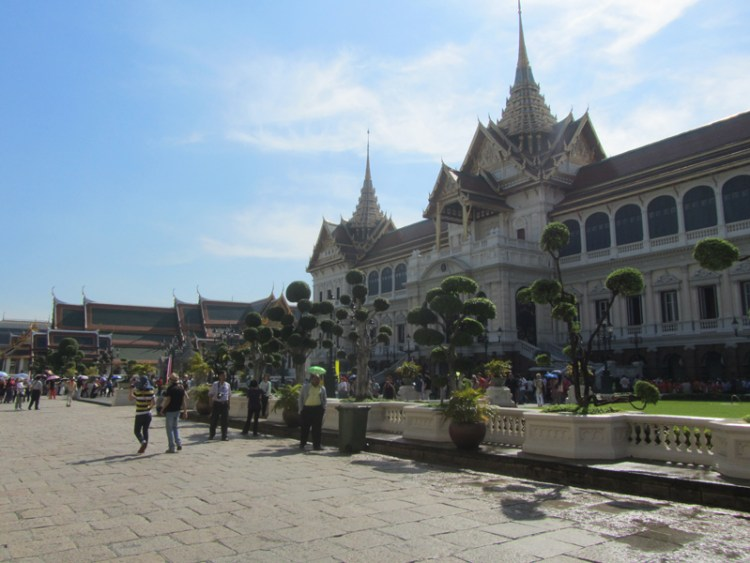 Official residence of the King in the Grand Palace, Bangkok