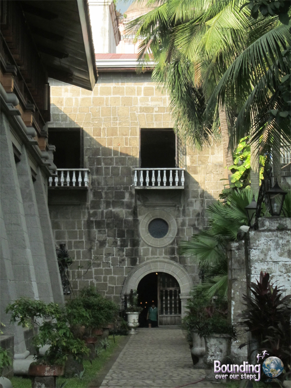 View of San Agustin Church from the courtyard in Intramuros Manila