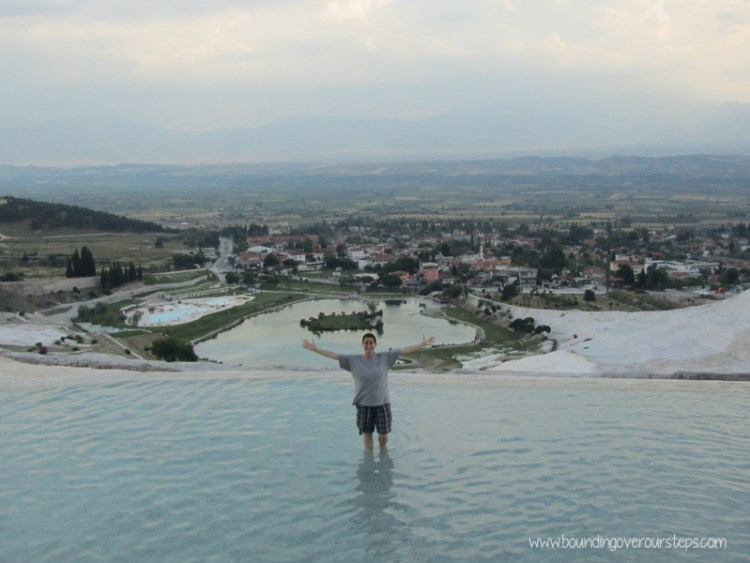 Coming out in Pamukkale, Turkey