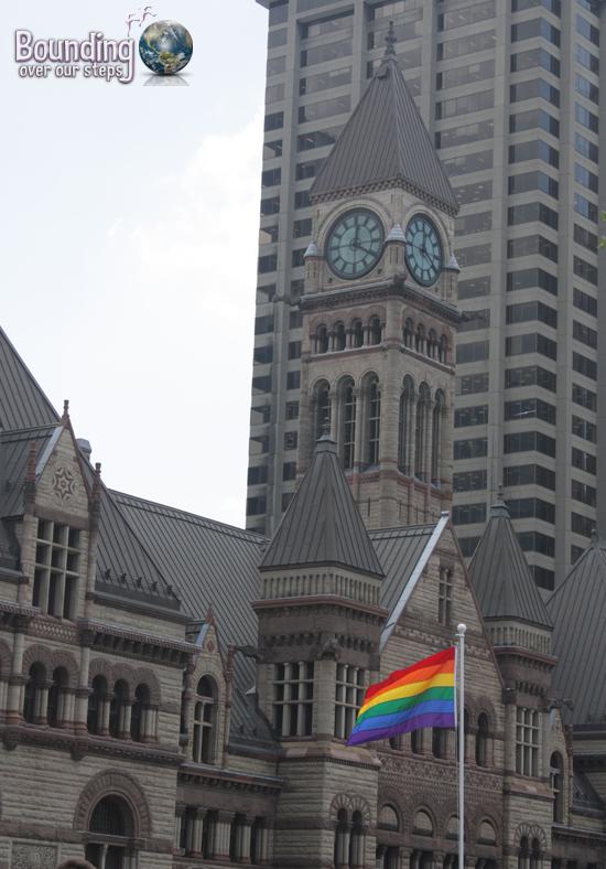Toronto Gay Pride Flag Raising