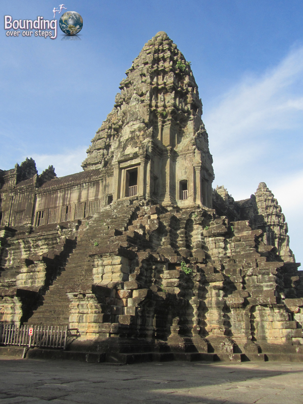The main temple of Angkor Wat