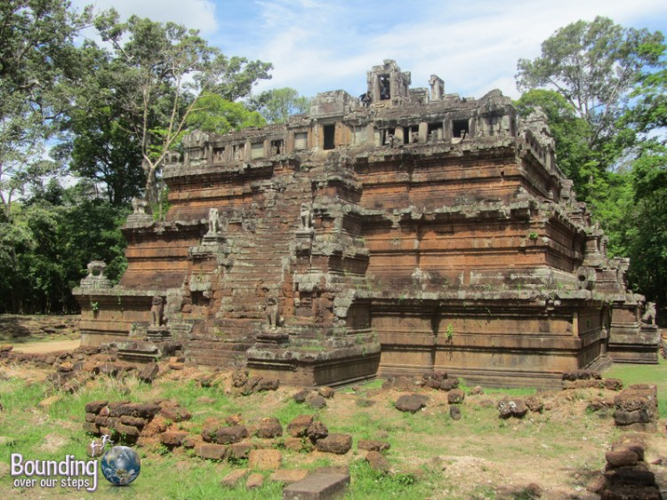 Climb to the top of the Phimeanakas Temple in Angkor Wat, Cambodia