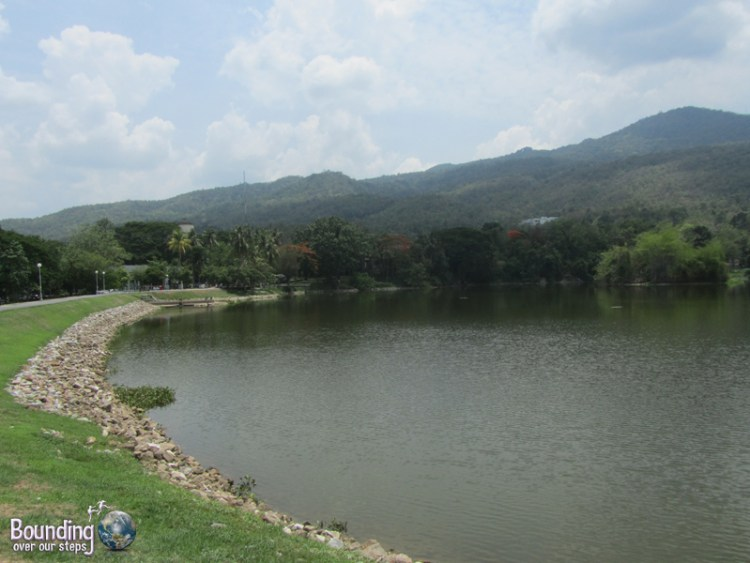 The reservoir at Chiang Mai University