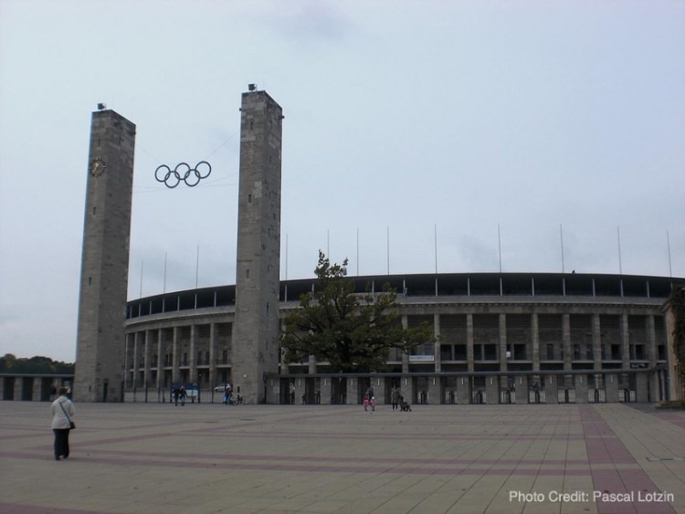 """Olympic Stadium in Berlin used during the 1936 """"Nazi Olympics"""""""