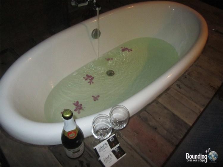 An amazing bath!