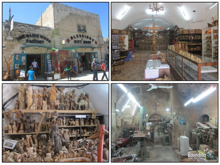 Blessings Gift Shop in in Bethlehem, Palestine