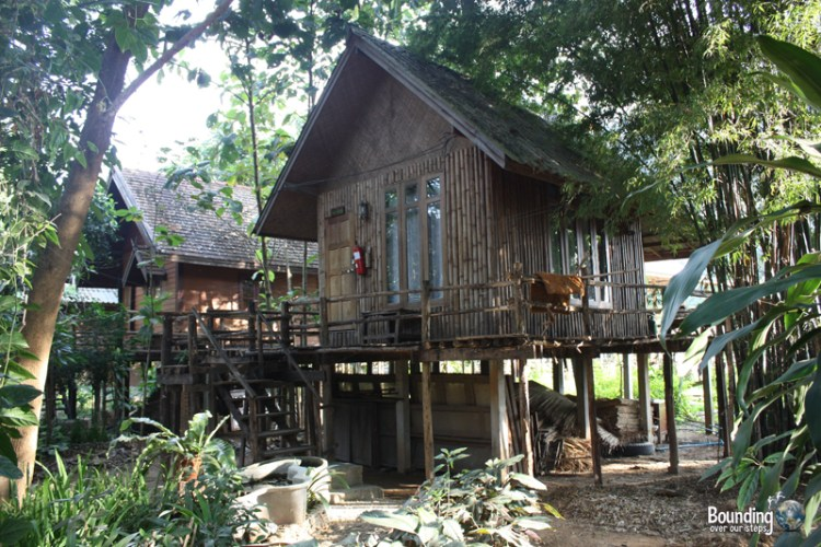 Overnight house at Elephant Nature Park