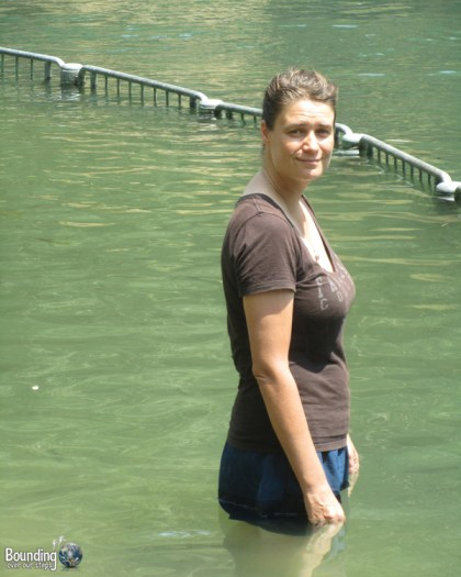 Ligeia baptized in the Jordan River
