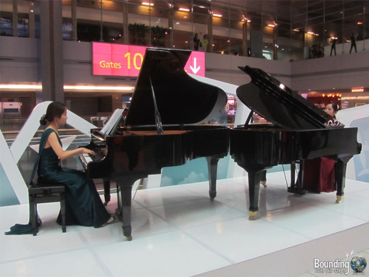 Piano Concert at Incheon Airport Seoul