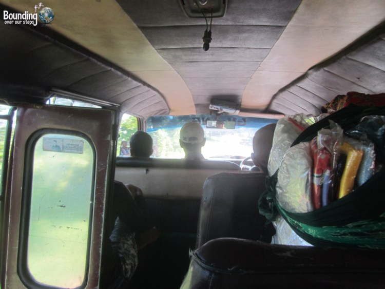 Singaraja to Ubud in a Fruit Truck - Bemo