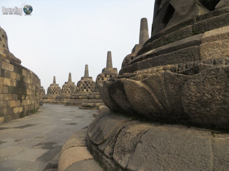 Temples of Yogyakarta - Borobudur and Prambanan - Stupas