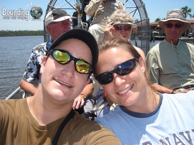 Miss About Florida - Fan Boat in Everglades