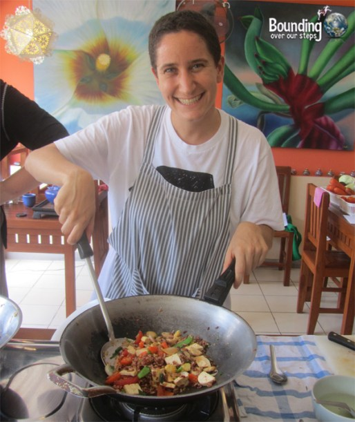 Vegetarian Cooking Class - Anchan Restaurant - Mindy