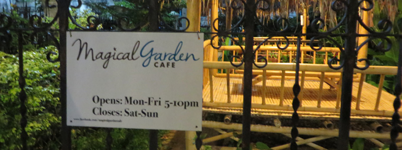 Magical Garden Cafe - Chiang Mai - Featured