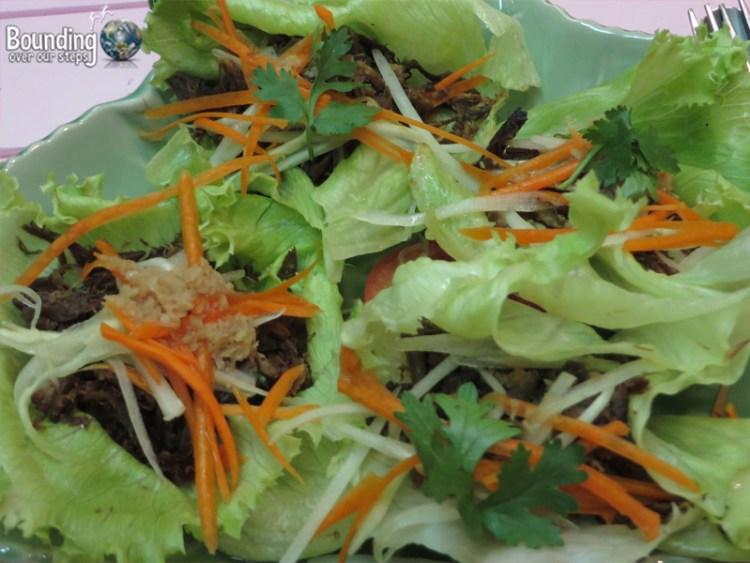 Magical Garden Cafe - Chiang Mai - Lettuce Wraps