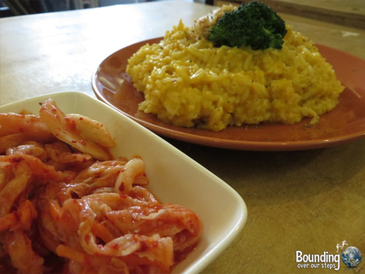 About Animals Vegan Restaurant - Kimchi and Risotto