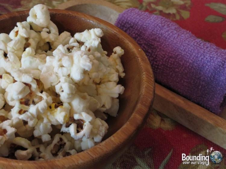 Bonita Cafe Vegan - Bangkok - Popcorn