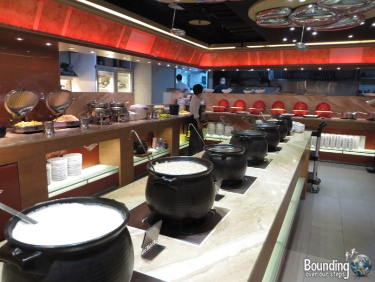 Evergreen Vegetarian Restaurant - Taipei - Hot Buffet