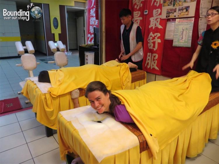 Knife Massage Taipei - Bed