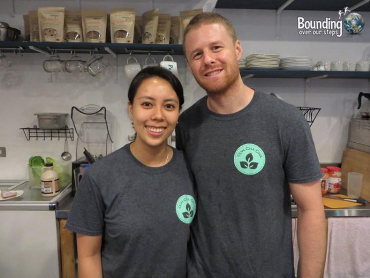 Ooh Cha Cha Vegan Cafe - Owners