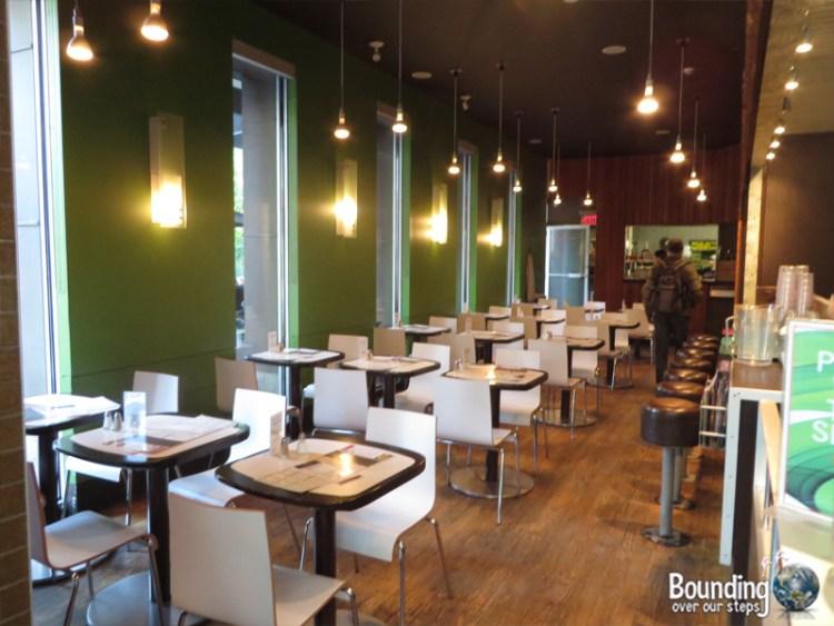 Fresh Vegetarian Restaurant - Dining Room