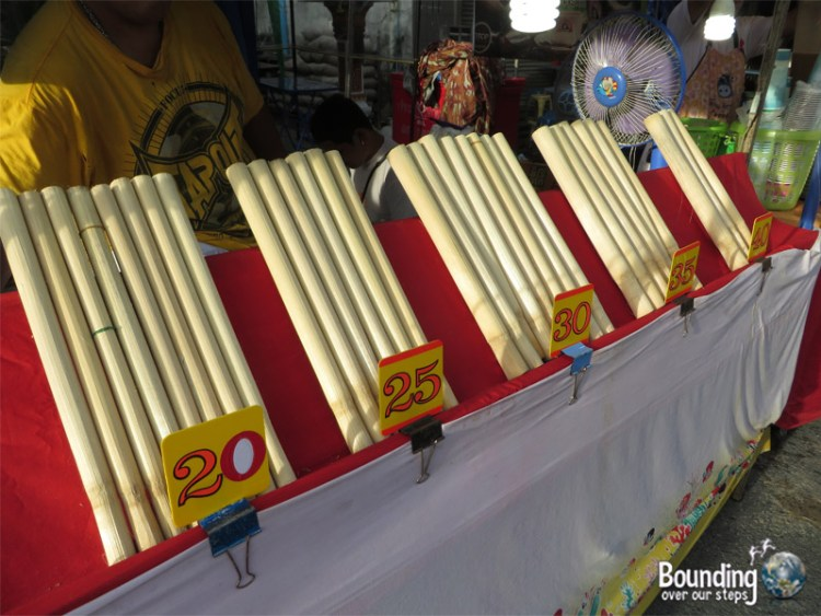 Phuket Vegetarian Festival - Sticky Rice Bamboo