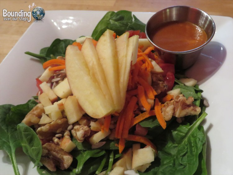 Cafe Pyrus - Apple Walnut Salad