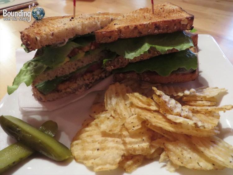 Cafe Pyrus - Club Sandwich