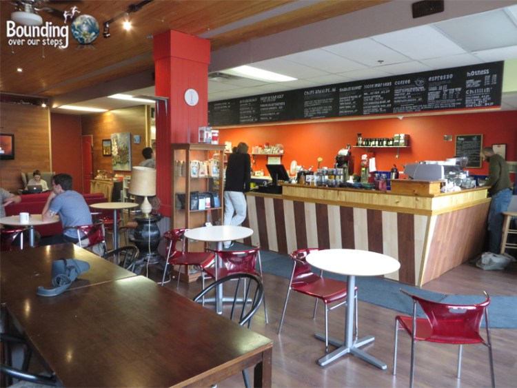 Cafe Pyrus - Dining Area
