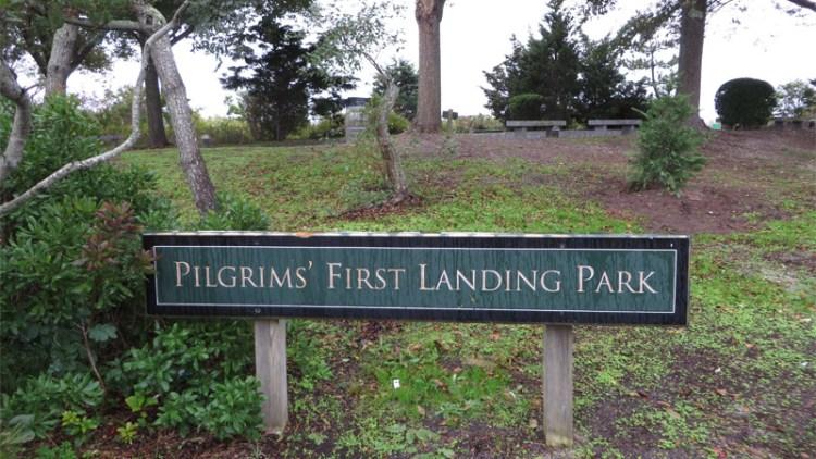 Pilgrim Rock - Pilgrim Landing Park in Provincetown