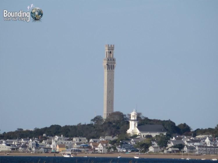 Pilgrim Rock - Pilgrim Monument in Provincetown