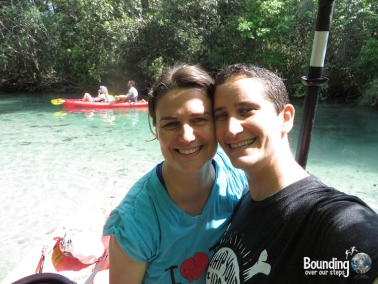 Kayaking Weeki Wachee - Selfie