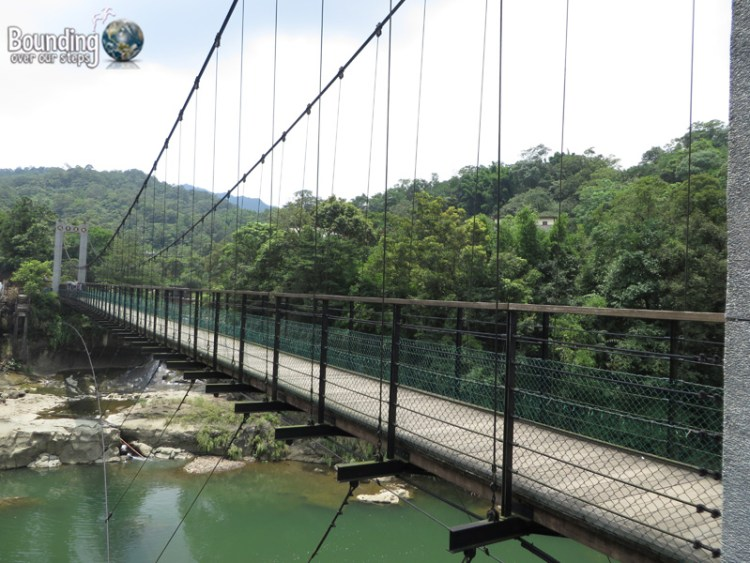 Finding Shifen Falls - Taiwan - Suspension Bridge